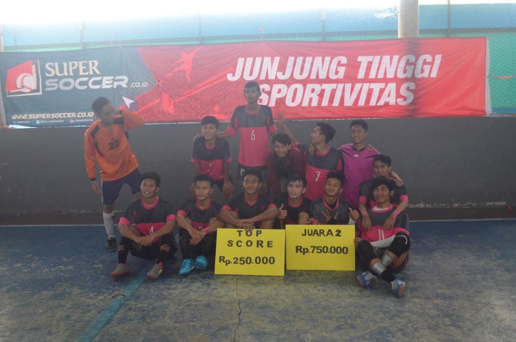 Penyelenggaraan Futsal Antar SMA 2017
